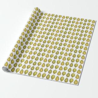 Reifes Birnen-Packpapier Geschenkpapier