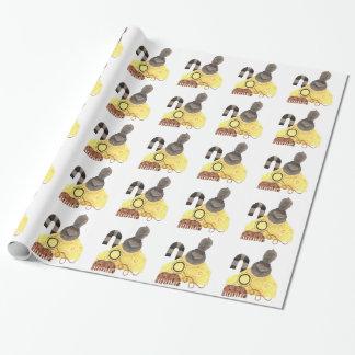 Reifes Cheddarkäse-Packpapier Geschenkpapier
