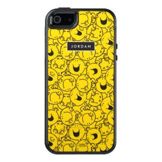 Reihe gelben Lächeln-Musters   addieren Ihren OtterBox iPhone 5/5s/SE Hülle