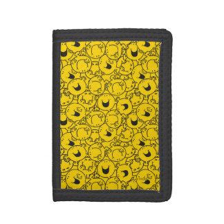 Reihe Herr-Happy   des Gelbs lächelt Muster