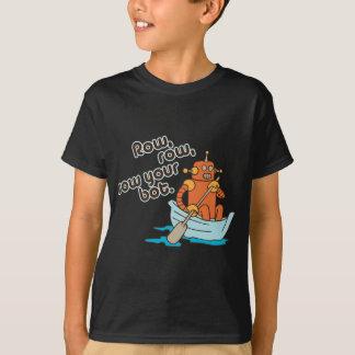 Reihe, Reihe, rudern Ihren Bot. T-Shirt
