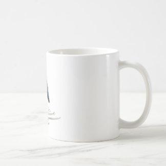 Reiher-Meditation, Sumi-e Graureiher Kaffeetasse