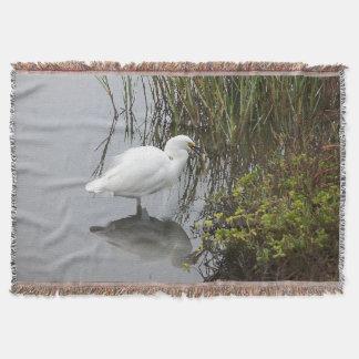 Reiher-Reiher-Vogel-Tier-TierWurfs-Decke Decke