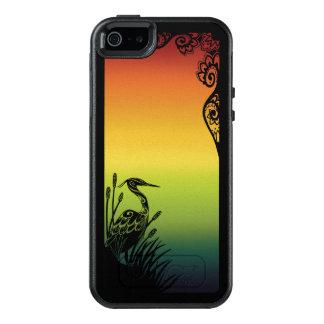 Reiher-Silhouette-Regenbogen OtterBox OtterBox iPhone 5/5s/SE Hülle