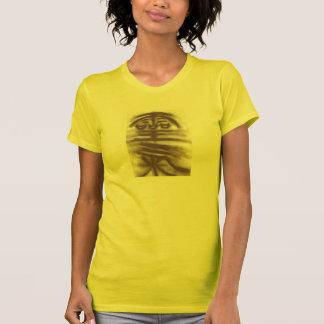 Reiki Kanji auf Gelb T-Shirt