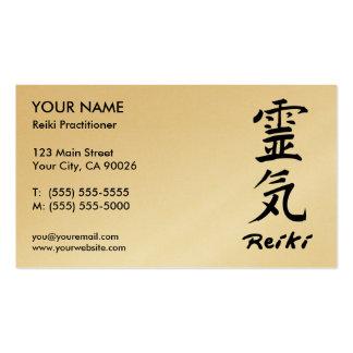 Reiki Praktiker-Visitenkarten
