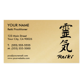 Reiki Praktiker-Visitenkarten Visitenkarten