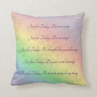 Reiki Prinzip-Regenbogen-Mandalaentwurf Kissen