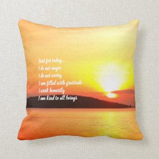 Reiki Prinzip-Sonnenaufgang-Kissen Kissen