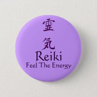 Reiki Symbol-Gefühl das Energie-Knopf-Button Runder Button 5,7 Cm