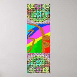 Reiki Symbol SHAY STERNE DES HEU-SCHLÜSSEL-n Poster