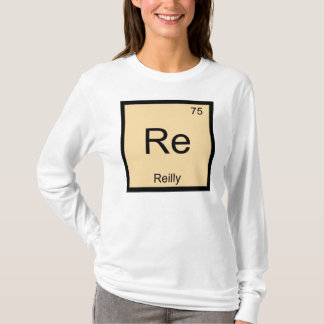 Reilly Namenschemie-Element-Periodensystem T-Shirt