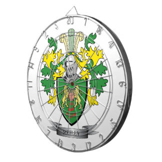 Reilly Wappen Dartscheibe