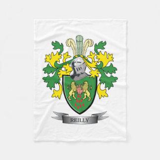 Reilly Wappen Fleecedecke