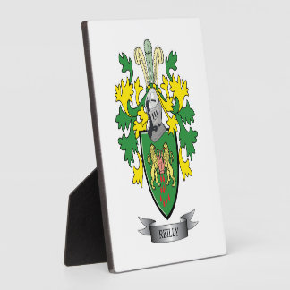 Reilly Wappen Fotoplatte