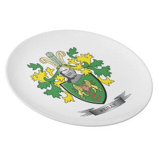 Reilly Wappen Teller