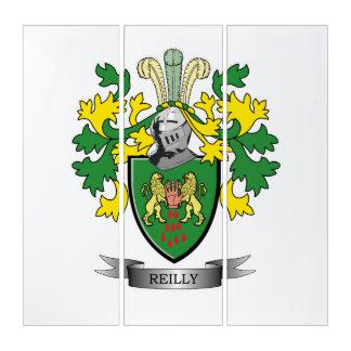 Reilly Wappen Triptychon