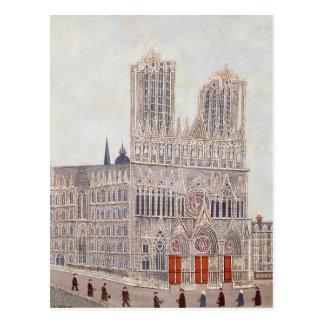 Reims-Kathedrale, c.1923 Postkarte
