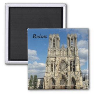 Reims - quadratischer magnet