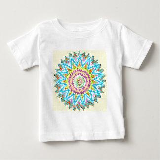 REINE beruhigende Energie STERN Embleme Baby T-shirt