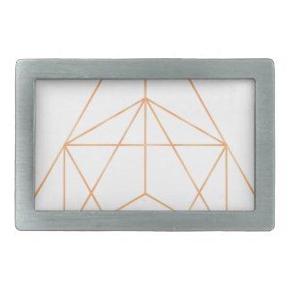 Reine Geometrie 01 Rechteckige Gürtelschnallen