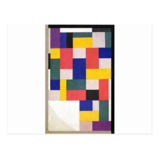 Reine Malerei von Theo van Doesburg Postkarte