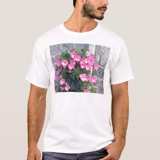 REINE ROSA BLUMEN-SHOW-SCHABLONE UTILE T-Shirt