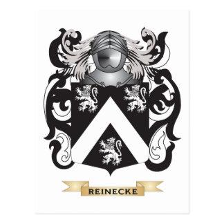 Reinecke Wappen (Familienwappen) Postkarte