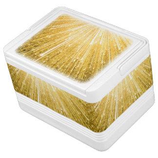 REINES GOLDmuster/goldene Dusche Kühlbox