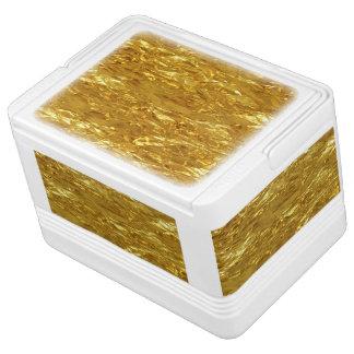 REINES GOLDmuster/Goldfolie Kühlbox