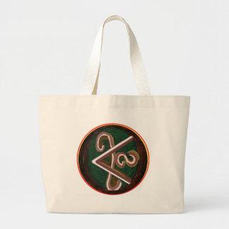 Reines künstlerisches - REIKI Karuna Symbol Jumbo Stoffbeutel