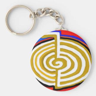 Reines künstlerisches - REIKI Karuna Symbol Schlüsselanhänger