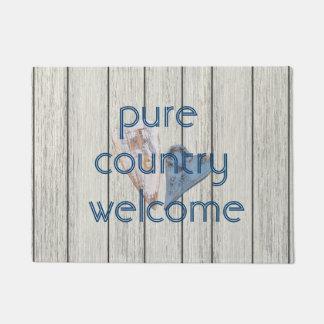 Reines Land-Willkommen Doormat