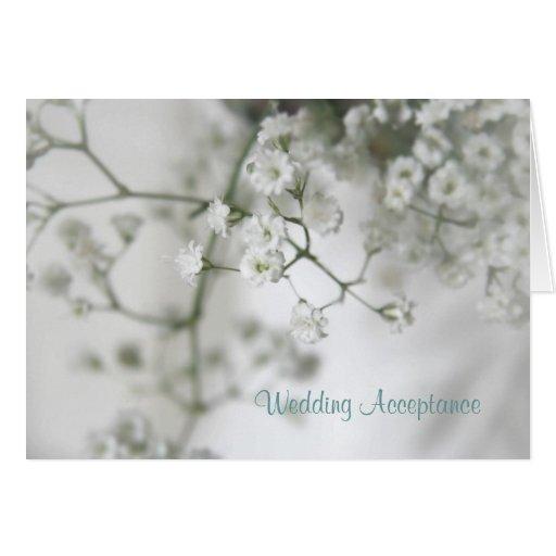 Reinheits-Hochzeits-Annahme Karten