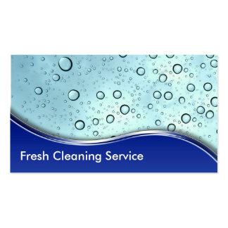 Reinigungs-Visitenkarten