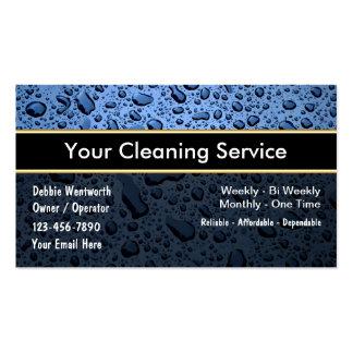 Reinigungs-Visitenkarten Visitenkarten