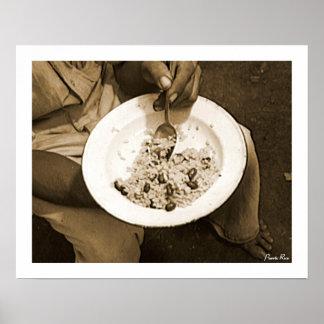 Reis und Bohnen, Geschichte, Puerto Rico Poster