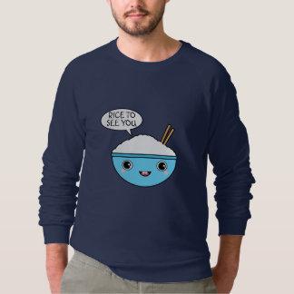 Reis, zum Sie zu sehen Sweatshirt