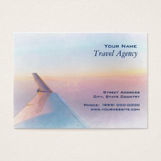 Reise-Agent-Geschäfts-Karte Visitenkarte