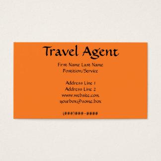 Reise-Agent Visitenkarte