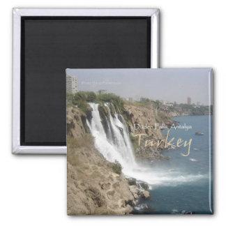 Reise-Andenken-Kühlschrankmagnet Antalyas die Türk Quadratischer Magnet
