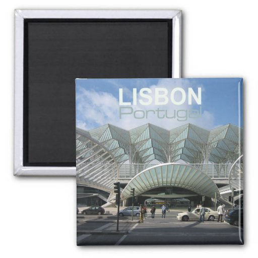 Reise-Andenken-Kühlschrankmagnete Lissabons Portug