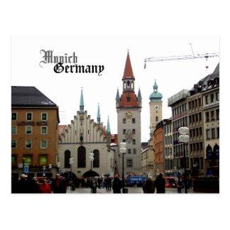 Reise-Andenken Münchens Deutschland Postkarte