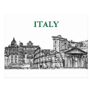 Reise-Andenkengeschenke Roms, Rom… Postkarte