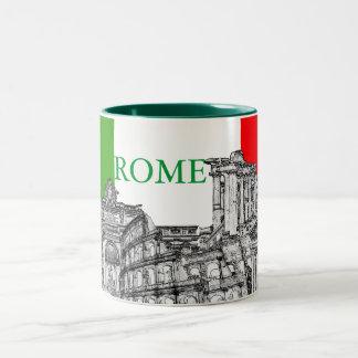 Reise-Andenkengeschenke Roms, Rom… Zweifarbige Tasse