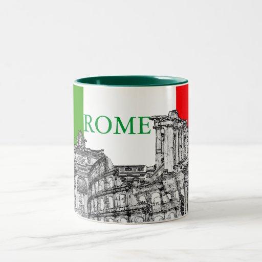 Reise-Andenkengeschenke Roms, Rom… Tassen