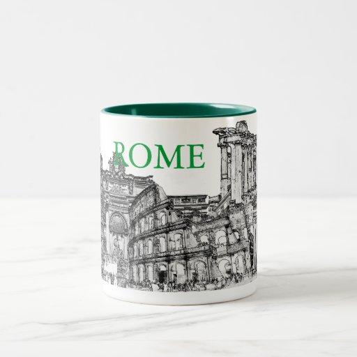 Reise-Andenkengeschenke Roms, Rom… Kaffeetasse