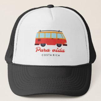 Reise-Brandung Van Costa Ricas Pura Vida Truckerkappe
