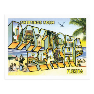 Reise Daytona Beach Florida US-Stadt Postkarte