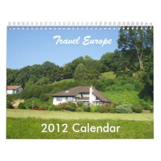 Reise Europa Wandkalender